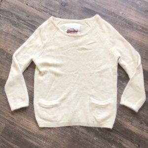 SuperDry Angora Cream Sweater